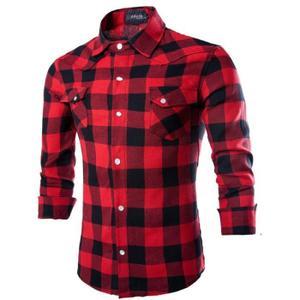 Chemise a carreaux rouge homme Achat / Vente Chemise a carreaux