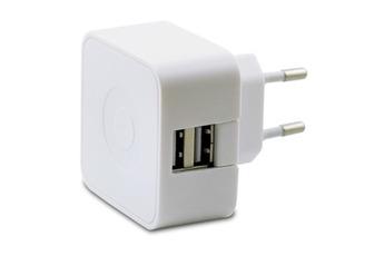 Chargeur pour téléphone mobile Chargeur secteur Muvit 2 USB 2.4A