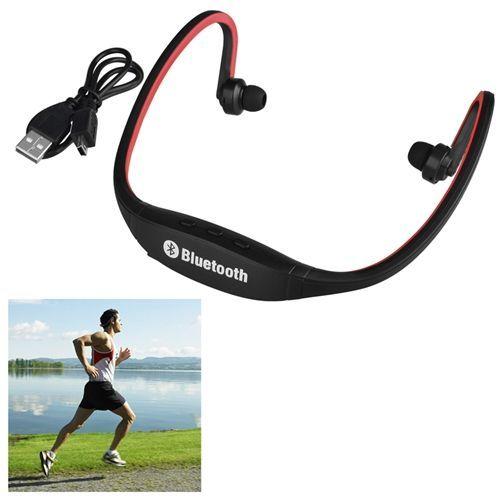 Casque Ecouteur Oreillette Universel Bluetooth Sans Fil Stéréo Sport