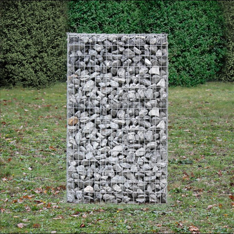 Gabion Pierre Panier Mur De métallique 4 Modèles