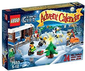 Lego City 7553 Jeu de Construction Le Calendrier de l'Avent Lego