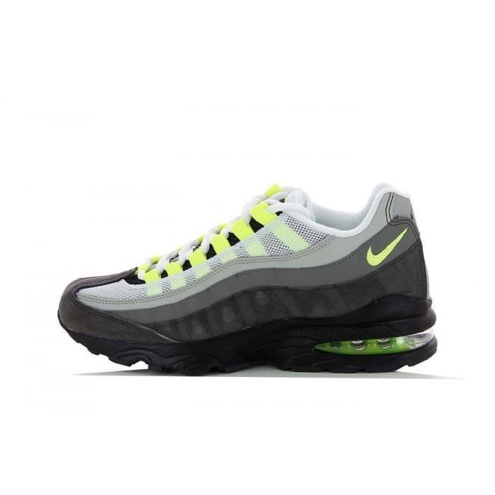 Basket Nike Air Max 95 (GS) 307565 077 Gris Achat / Vente basket