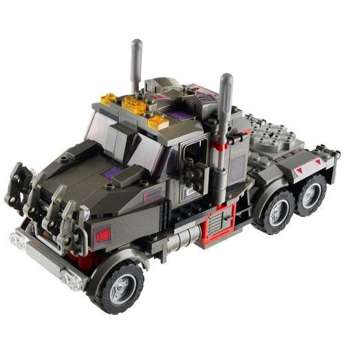 Kre O Figurine Transformers : Robot et camion à construire