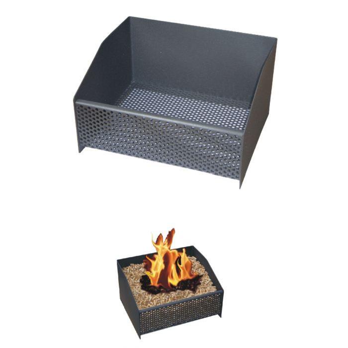Panier à pellet, granulés de bois pour poele, insert, cheminée Il