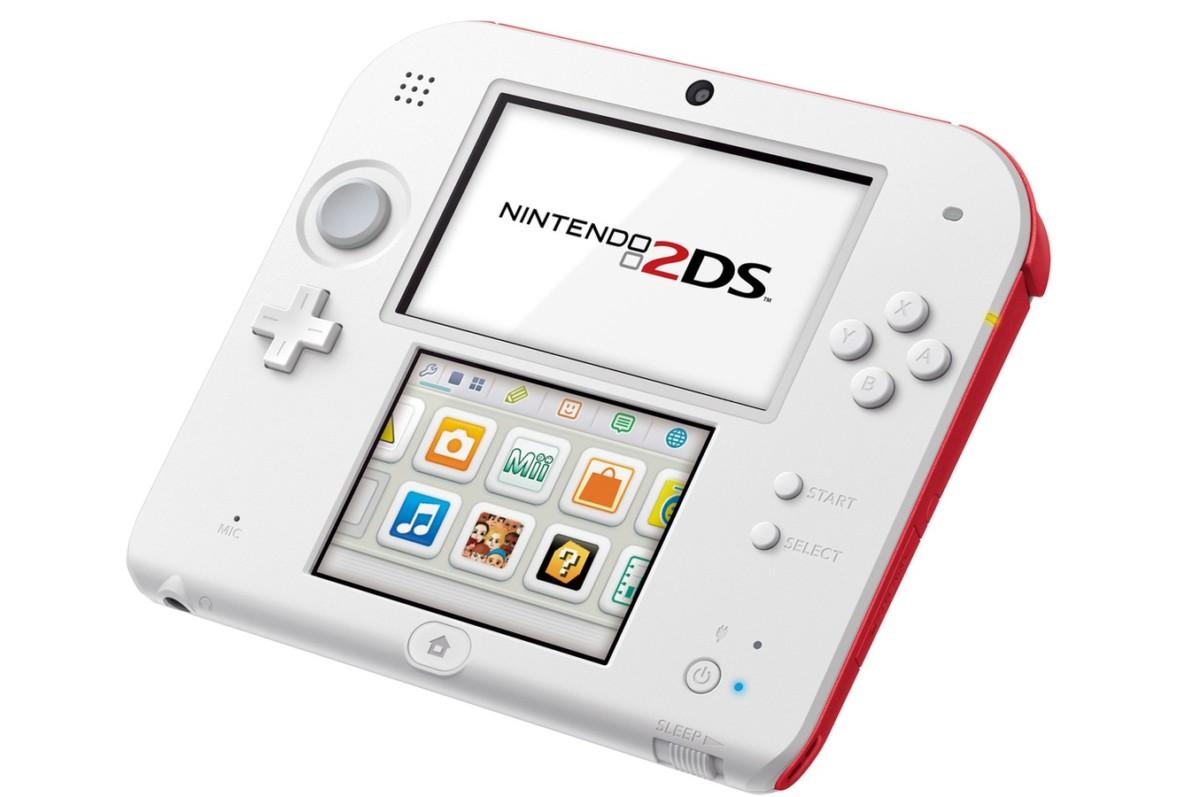 Consoles 2DS Nintendo 2DS BLANC + ROUGE (3806677) |