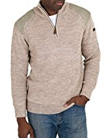 Wool Overs Pull camionneur homme en pure laine