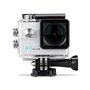 Excelvan 4K Caméra Sport WIFI 3840*2160 16M 173° Caméra d'Action
