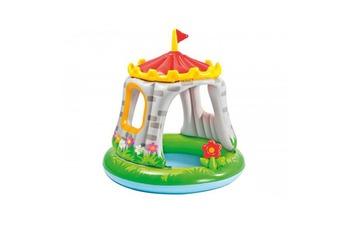 Piscine enfant Piscine pour enfants château avec pare soleil INTEX