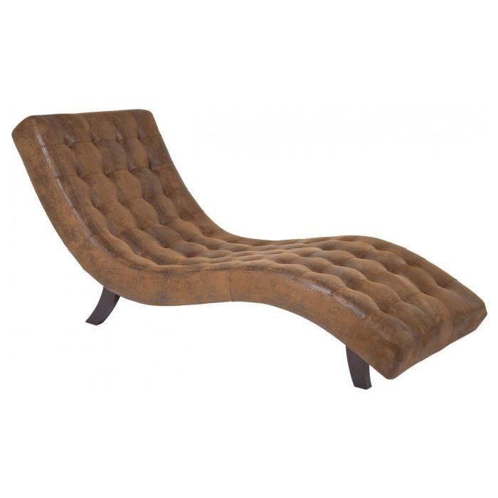 Chaise Longue Snake Vintage Kare Design Confortable chaise longue