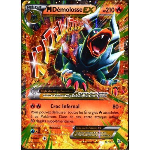 Carte Pokémon 22/162 Méga Démolosse Ex 210 Pv Xy Impulsion Turbo