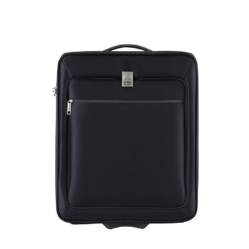 Visa Delsey Valise Cabine Low Cost 2 Roues Easy Fly 50 Cm Marine
