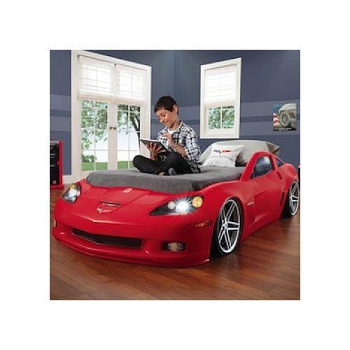 Step 2 Lit voiture Corvette Chevrolet pas cher Achat / Vente Lit