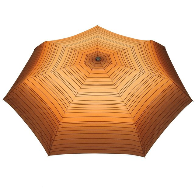 PARASOL Mini parapluie O/F Automatique Linea Marron Orange | La