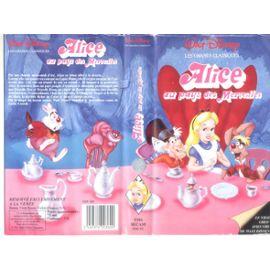 Alice Au Pays Des Merveilles de Walt Disney VHS