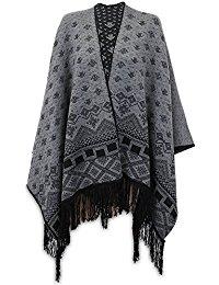 poncho femme : Vêtements