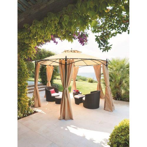 tonnelle en acier topiwall. Black Bedroom Furniture Sets. Home Design Ideas