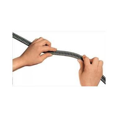 Rail flexible N ballasté Fleischmann longueur 777 mm Achat / Vente