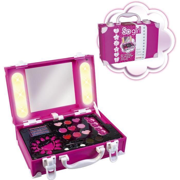 LANSAY Ma Valisette De Maquillage Avec Miroir Lumineux Achat / Vente