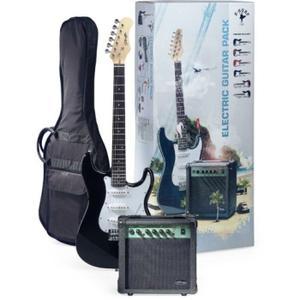 GUITARE STAGG Pack Surfstar Guitare Electrique+Ampli Noir
