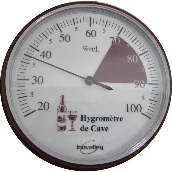 Thermomètre hygromètre de cave de 20 à 100% Afin de vérifier le