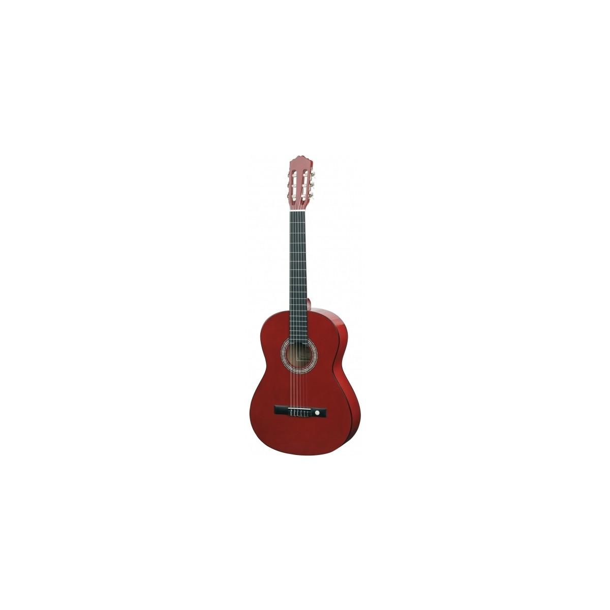 Guitare classique 3/4 rouge Almeria Classic Neuf