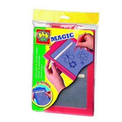 Ardoise magique 20 x 25 cm : 2 faces Achat / Vente ardoise enfant