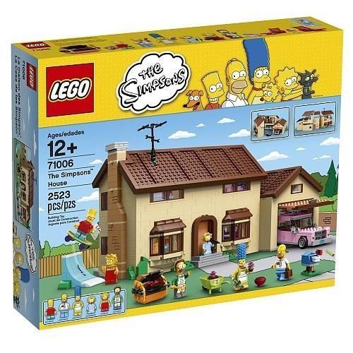 LEGO 71006 La Maison des Simpsons Achat / Vente assemblage