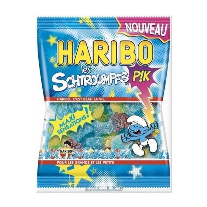 Haribo bonbons schtroumpfs pik 275g Achat / Vente bonbons acidulés