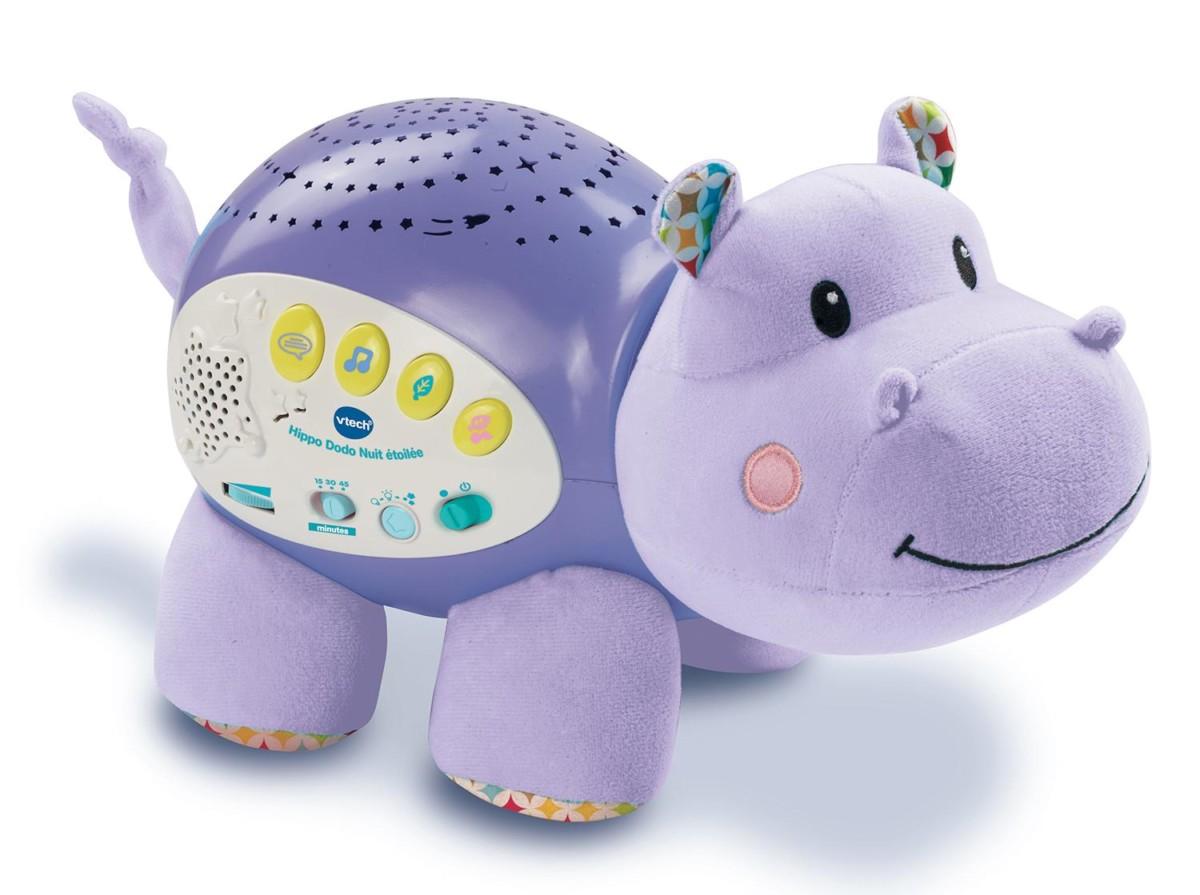 Vtech 180905 Veilleuse Hippo Dodo Nuit Etoilée