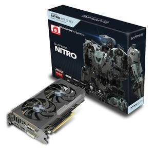 Carte graphique AMD Nitro R7 370 GPU cadencé à 985MHz Mémoire