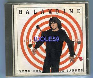 Daniel Balavoine, vendeurs de larmes, CD