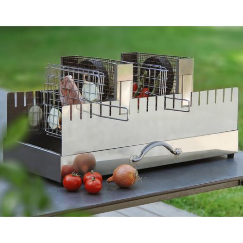 Bbq Vertical. Bull Bbq Inch Stainless Steel Vertical Vented Single ...
