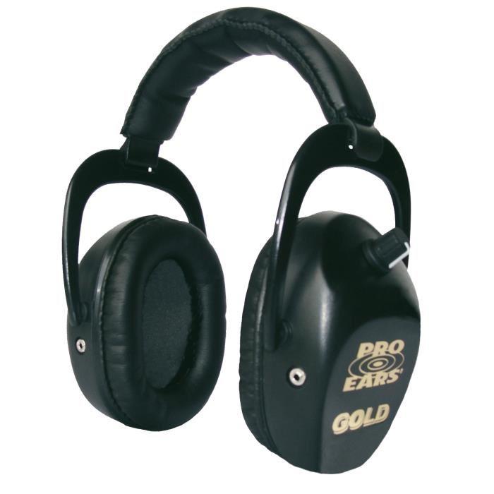 Casque Pro Ears Stalker ?Gold» Noir. Prix pas cher