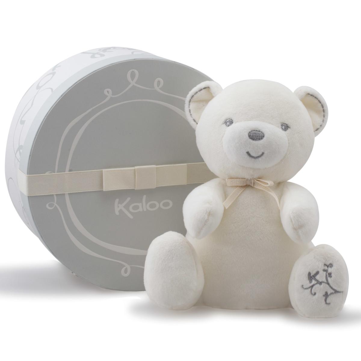 Perle doudou bébé musical Crème de Kaloo, Doudous : Aubert