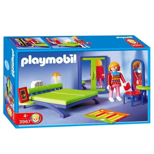 Playmobil 3967 La Maison Moderne Chambre contemporaine Playmobil