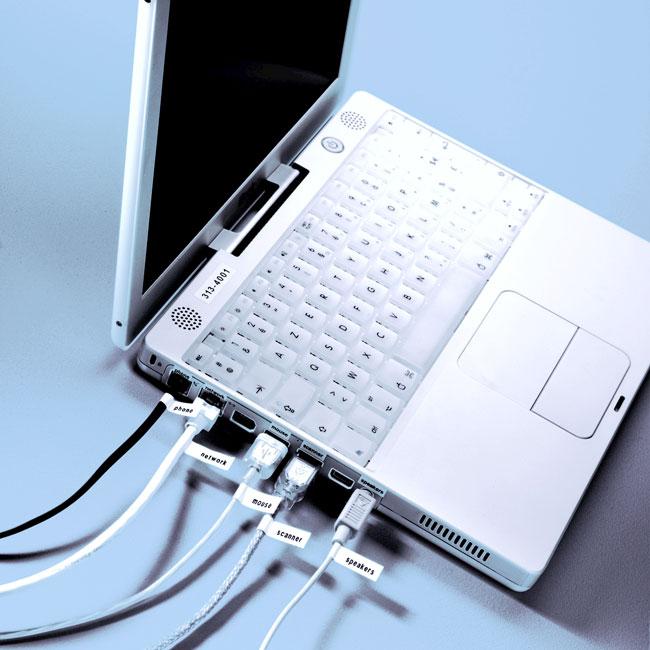 de Bureau USB + Rubans D1 9 et 12mm: Fournitures de bureau