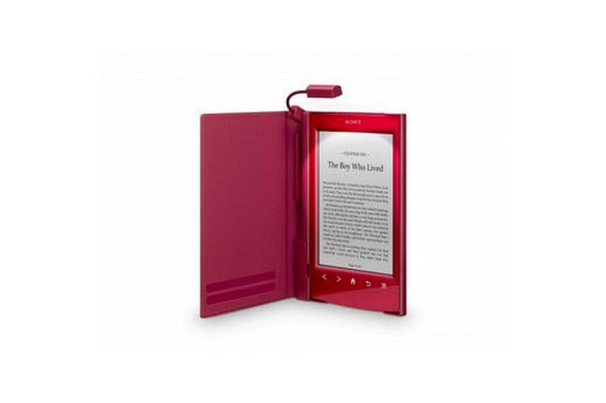 ROUGE +Accessoires liseuses Sony LUMIERE POUR PRS T1 et PRS T2 ROUGE