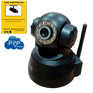 WIRELESS VIDEO SURVEILLANCE AFFICHE MOTORIZED P2P IP WIFI CAMERA DE