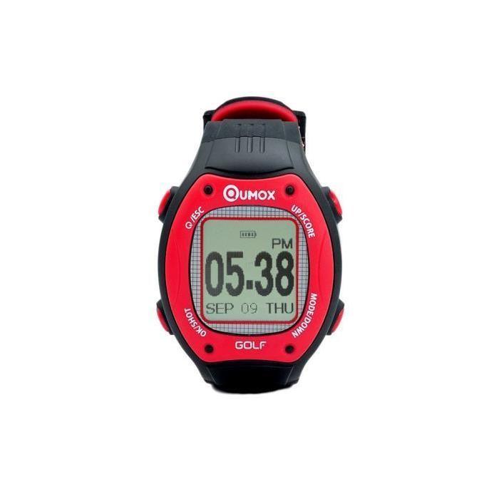 Montre GPS Golf Achat / Vente entrainement golf QUMOX Montre GPS