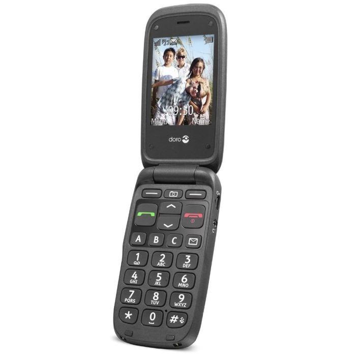 doro 612 noir téléphone portable, prix pas cher