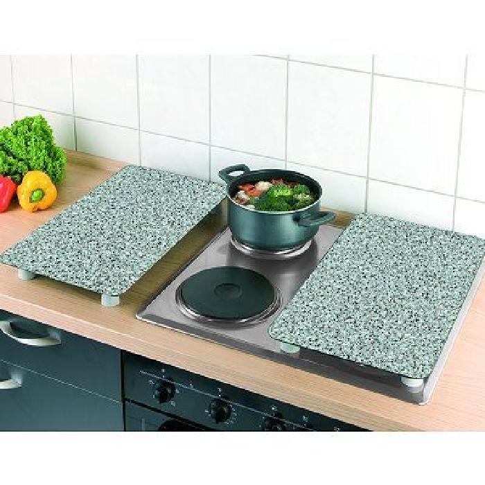 Couvre plaques de cuisson universel GranitCouvre plaques de cuisson