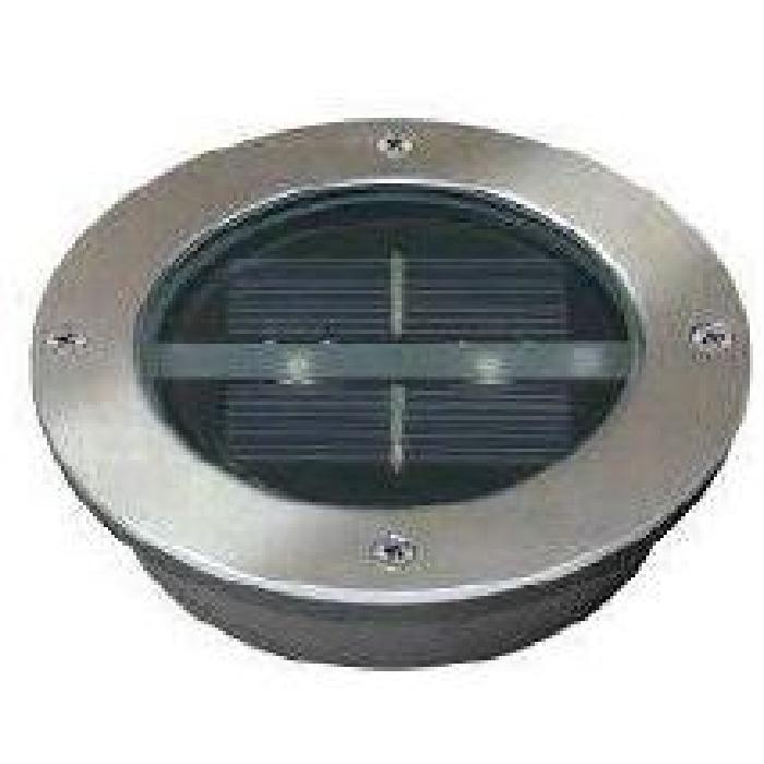 spot solaire encastrable rond à led lugo Achat / Vente Spot solaire