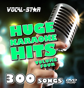 Karaoke hd dvd disc set vocal étoiles énorme hits vol 4