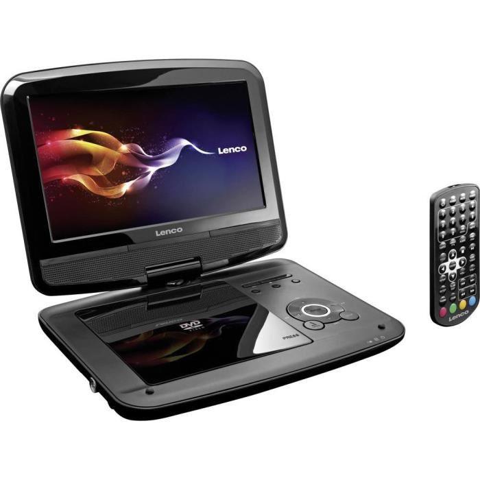 DVP 9412 avec lecteur DVD intégré, fonctionnement sur batterie, TV