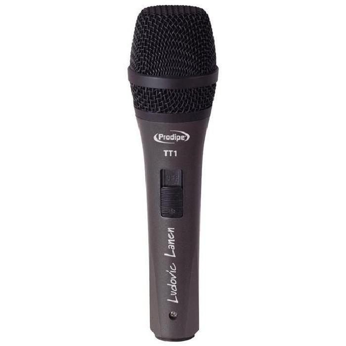 PRODIPE TT1 micro dynamique Ludovic Lanen microphone accessoire