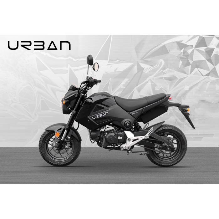 moto urban 50cc noir homologué route Achat / Vente moto Moto