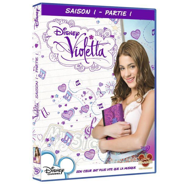 DVD Violetta saison 1 vol 1 en dvd série pas cher