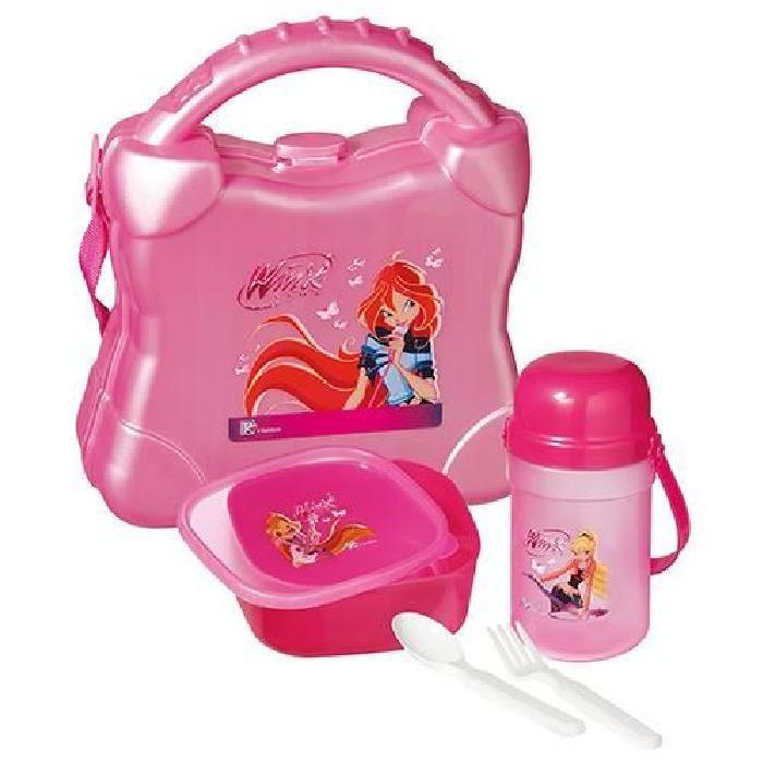 Winx Club rose Achat / Vente lunch box bento Set pique nique Winx