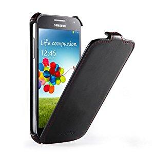 EasyAcc® Samsung Galaxy S4 Mini Flip Cover Coque housse etui rabat en