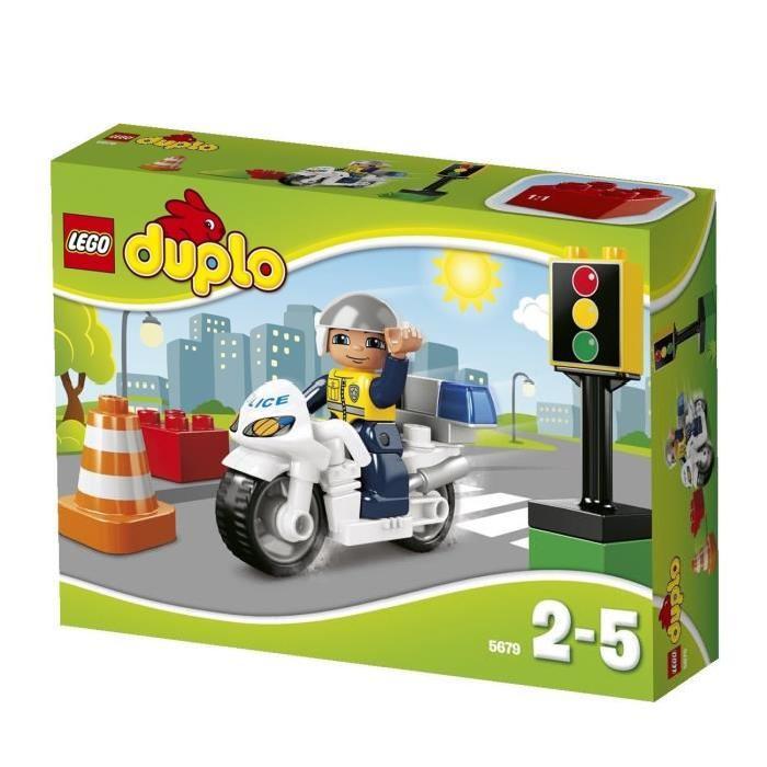 LEGO DUPLO5679 Le policier patrouille sur sa moto et s?occupe de